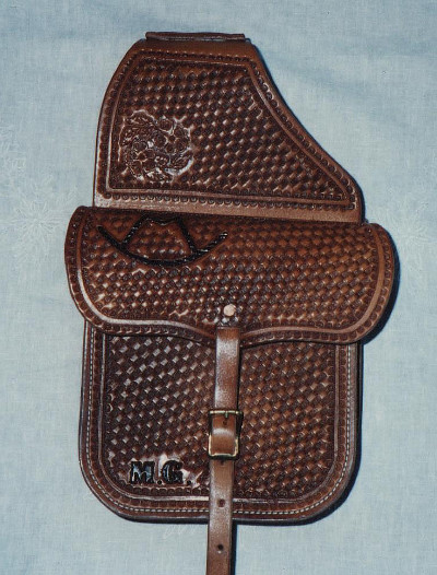 "9\"" X 9\"" Saddle Bags"